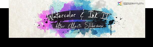 Watercolor & Ink Slideshow - 1